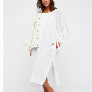FREE PEOPLE Diving In Your Heart Tunic